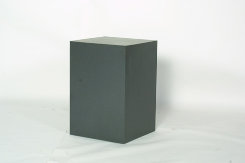 24x24x36h graphite pedestal